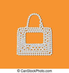 concept:, mode, biljard, väska
