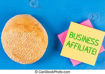 concept, mot, minorité, business, texte, compagnie, écriture, affiliate., actionnaire, another., une
