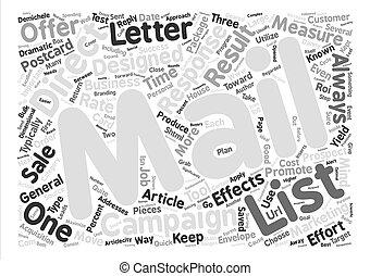 concept, mot, texte, direct, fond, courrier, nuage