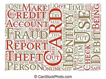 concept, mot, vol, texte, fraude, nuage, fond, gov, identité