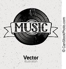 concept., musique, fond