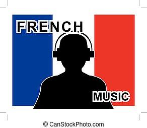 concept, musique, francais