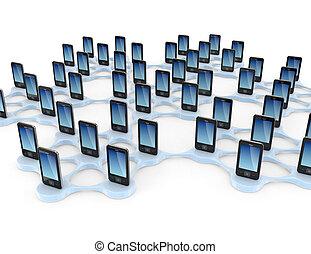 concept., nätverk