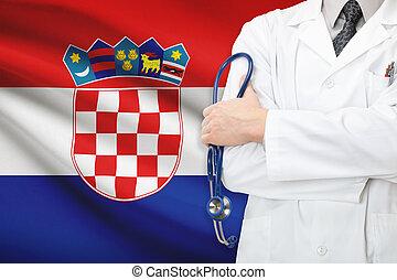 concept, national, -, système, croatie, healthcare