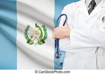 concept, national, -, système, guatemala, healthcare