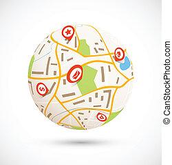 concept, navigatie