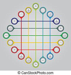 concept, netwerk