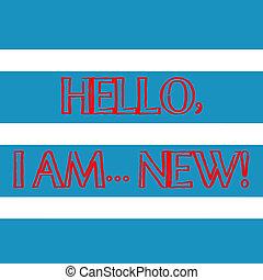 concept, new., kleur, tekst, beginnen, blauwe , model, seamless, schrijvende , witte , alternate., gebruikt, zakelijk, telefoon, streep, horizontaal, breed, woord, groet, of, gesprek, hallo