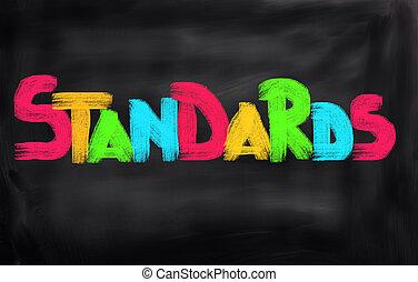 concept, normes