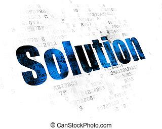 concept:, numérique, finance, fond, solution