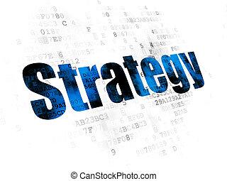 concept:, numérique, finance, fond, stratégie
