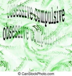 obsessive compulsive disorder - concept obsessive compulsive...