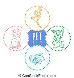 concept of a pet shop i