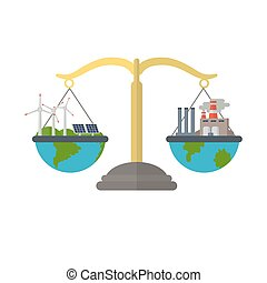 Concept of alternative energy sources