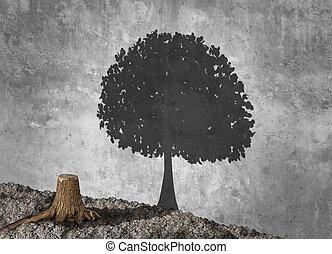 Concept Of Aspiration - Aspiration concept and ambition idea...