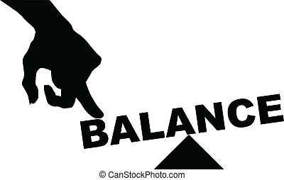 Concept of balance - The concept of balance, the word...