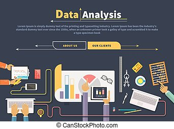 Concept of business. Data collection. Analysis