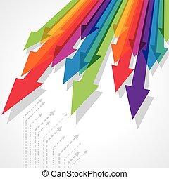 Concept of business movement, Arrow