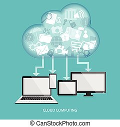 concept of cloud technology