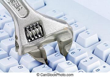 concept of computer repairing