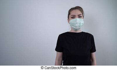 Concept of coronavirus quarantine. Concept of a global ...