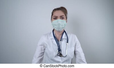 Concept of coronavirus quarantine. Concept of a global ...