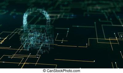Cyber-Sicherheit Videoclips