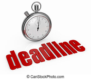 concept of deadline