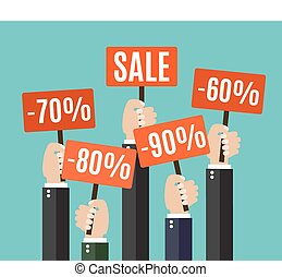Concept of discount.