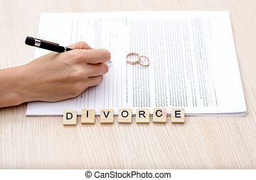 Concept Of Divorce.