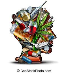 Concept Of Drug Addiction