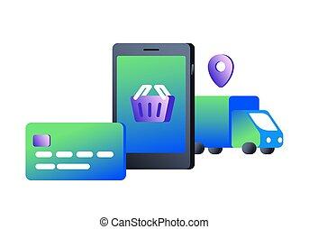 Concept of e-commerce
