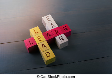 concept of education leadership and business success
