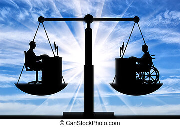 Concept of equal employment opportunity persons with...