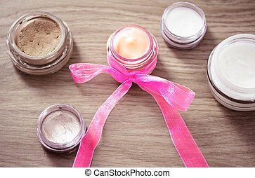concept of favorite product/best buy in cosmetics - skincare...