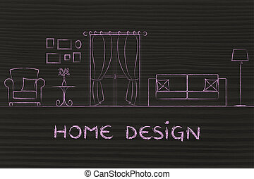 concept of home design