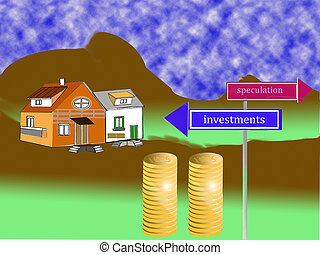concept of housing market
