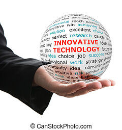 Concept of innovative technology in business