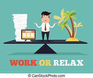 Concept of life and work balance