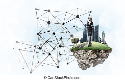 Concept of modern wireless technologies as effective tool for bu