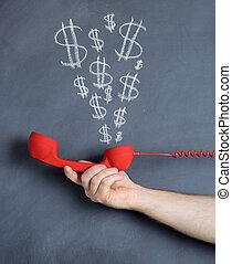 money talks - concept of money talks