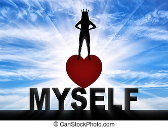 Concept of narcissism and selfishness