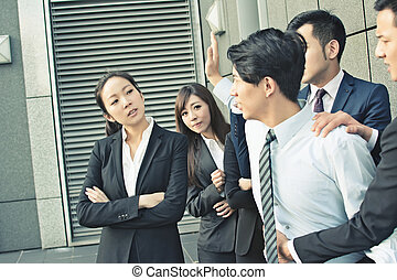 concept of office bully