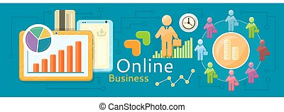 Concept of online business