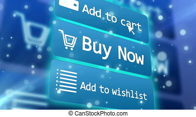 """Concept of online internet shopping e-commerce."" - ""3..."