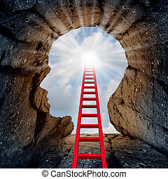 Concept Of Open Mind - Concept of open mind as a a deep...