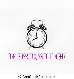 Concept of procrastination and time management
