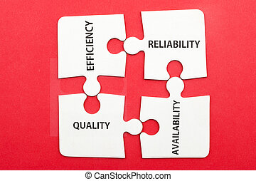 Concept of service: efficiency, reliability, quality and...