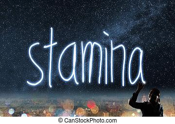 Concept of stamina
