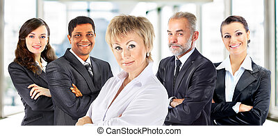 group of businessperson